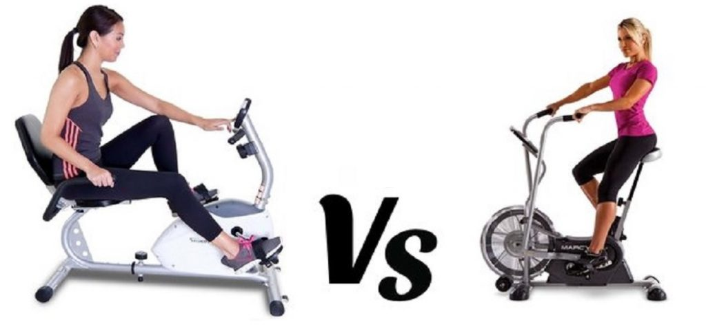 Upright Exercise Bikes vs Recumbent Bike