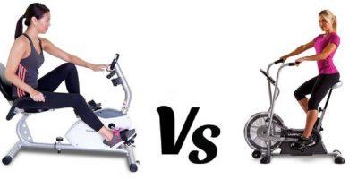Upright Exercise Bikes vs Recumbent Bike