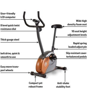 Marcy ME-708 Upright Exercise Bike