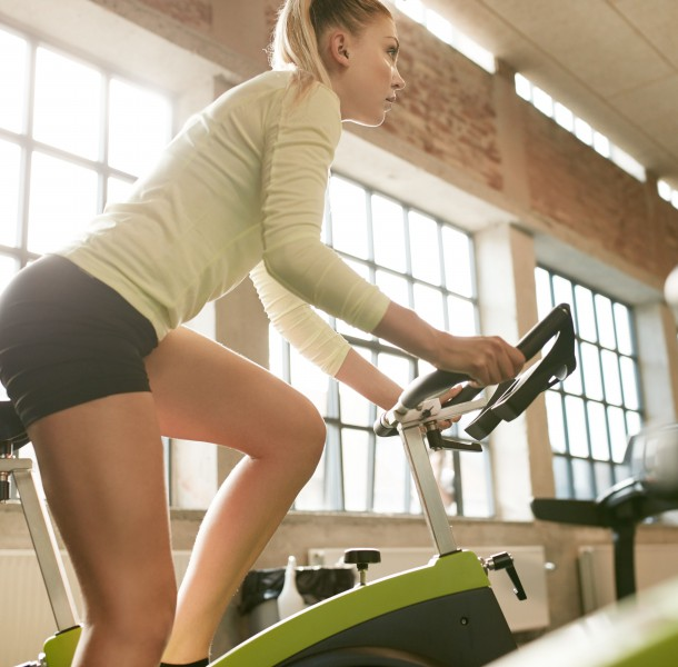 How long should you exercise on a stationary bike