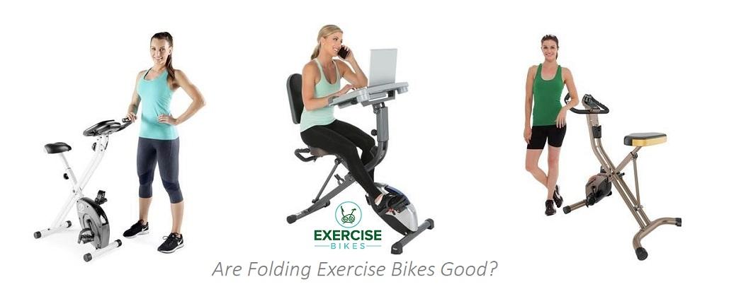 folding exercise bikes