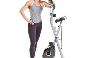 Exerpeutic Folding Magnetic Upright Bike With Pulse 3