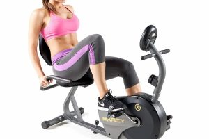Marcy NS-716R Magnetic Resistance Recumbent Exercise Bike