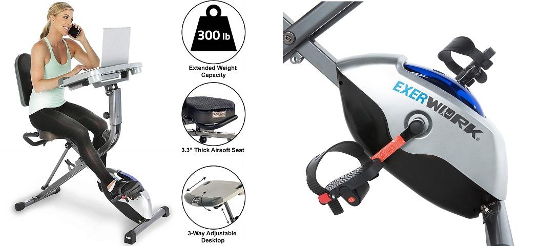 Exerpeutic Exercise Bikes - exerwork 1000