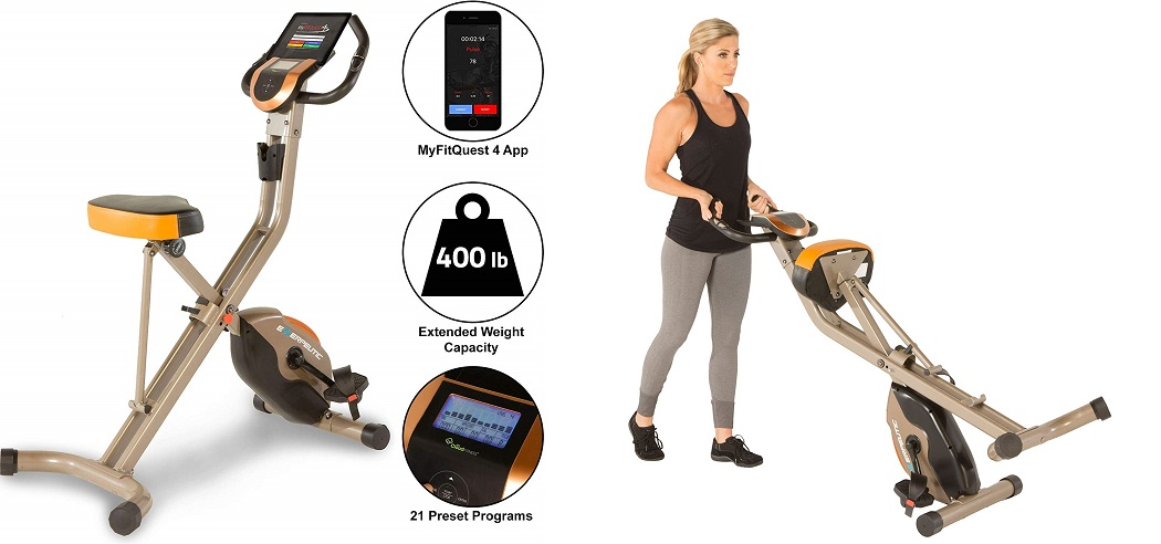 Exerpeutic Exercise Bikes - gold 575 xls