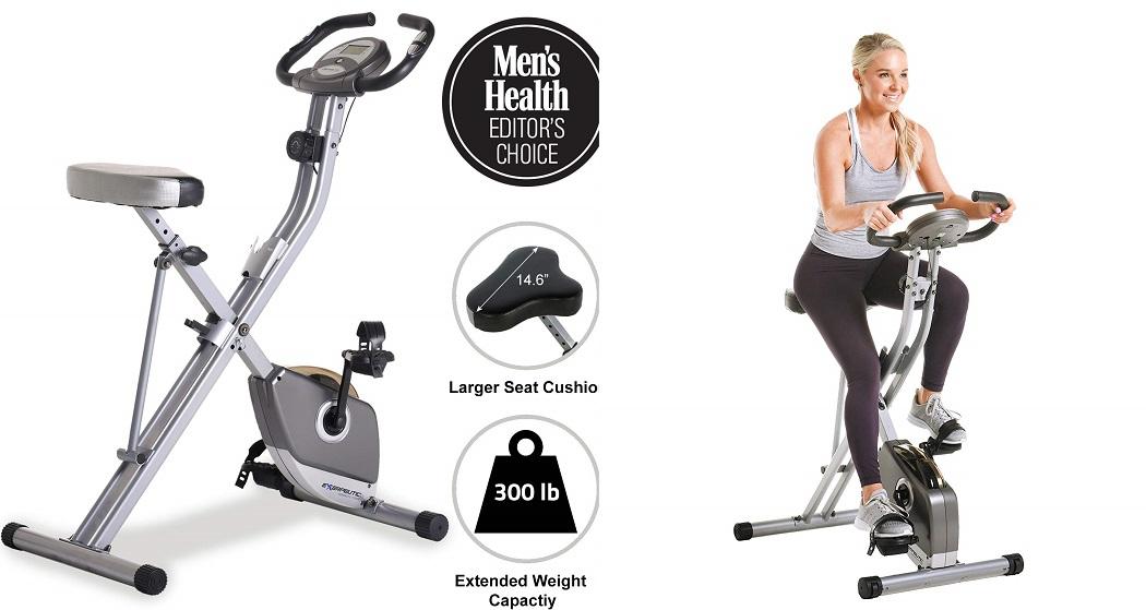 Exerpeutic exercise bikes - Exerpeutic folding magnetic