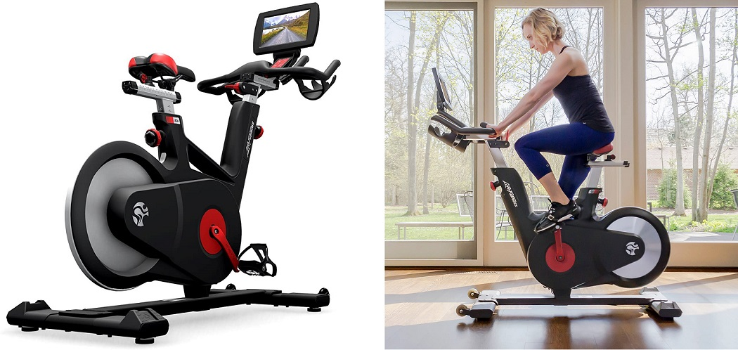 best spin bike - life fitness ic6
