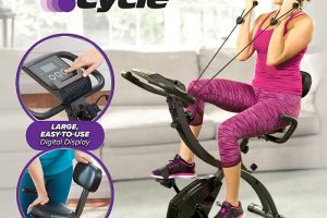 Slim Cycle 2-In-1 Exercise Bike As Seen On TV