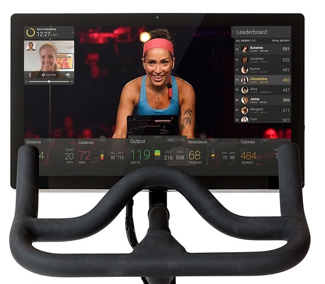 SPIN BIKE WITH MONITOR