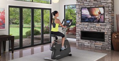 upright exercise bikes