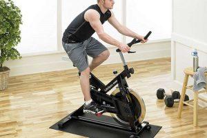 mat for exercise bike